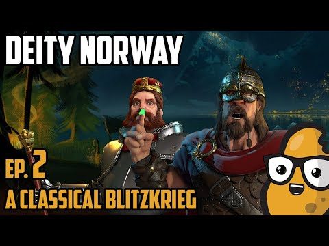 A Classical Blitzkrieg - Civ 6 Let's Play Ep. 2 Deity Norway
