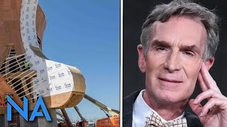 Bill Nye Not Impressed by the Creationism Museum Ark