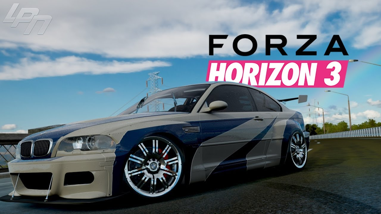 most wanted bmw m3 e46 forza horizon 3 part 105 lets. Black Bedroom Furniture Sets. Home Design Ideas