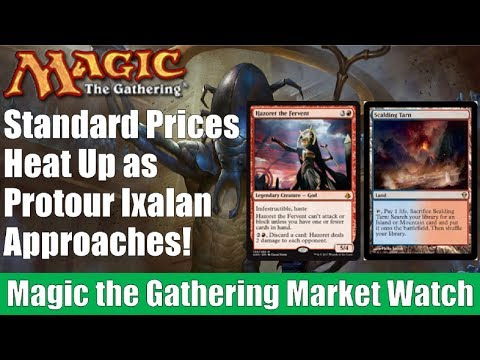 MTG Market Watch: Standard Prices Heat Up as Protour Ixalan Approaches!