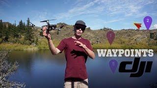DJI Mavic Pro - Waypoints