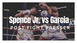 FULL Spence Jr. vs. Garcia Post-Fight Press Conference
