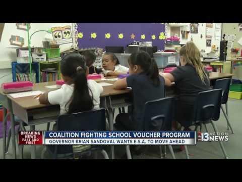 Coalition fighting Nevada Education Savings Account plans