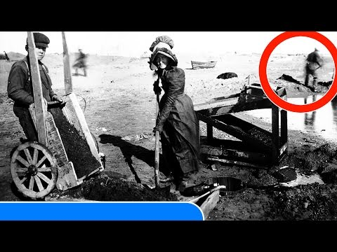 25 RARE old Photos of the GOLD RUSH you WON'T BELIVE!!!