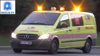 Madrid emergency medical services // Servicios de emergencias médicas Madrid