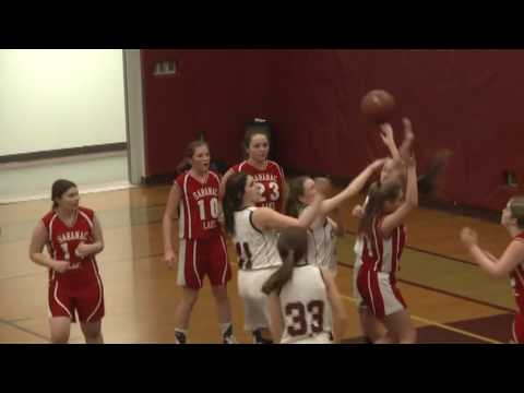 NCCS - Saranac Lake JV Girls  1-23-17