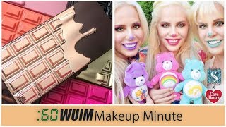 Makeup Revolution Rose Gold CHOCOLATE Palette + Storybook Cosmetics X CARE BEARS! | Makeup Minute