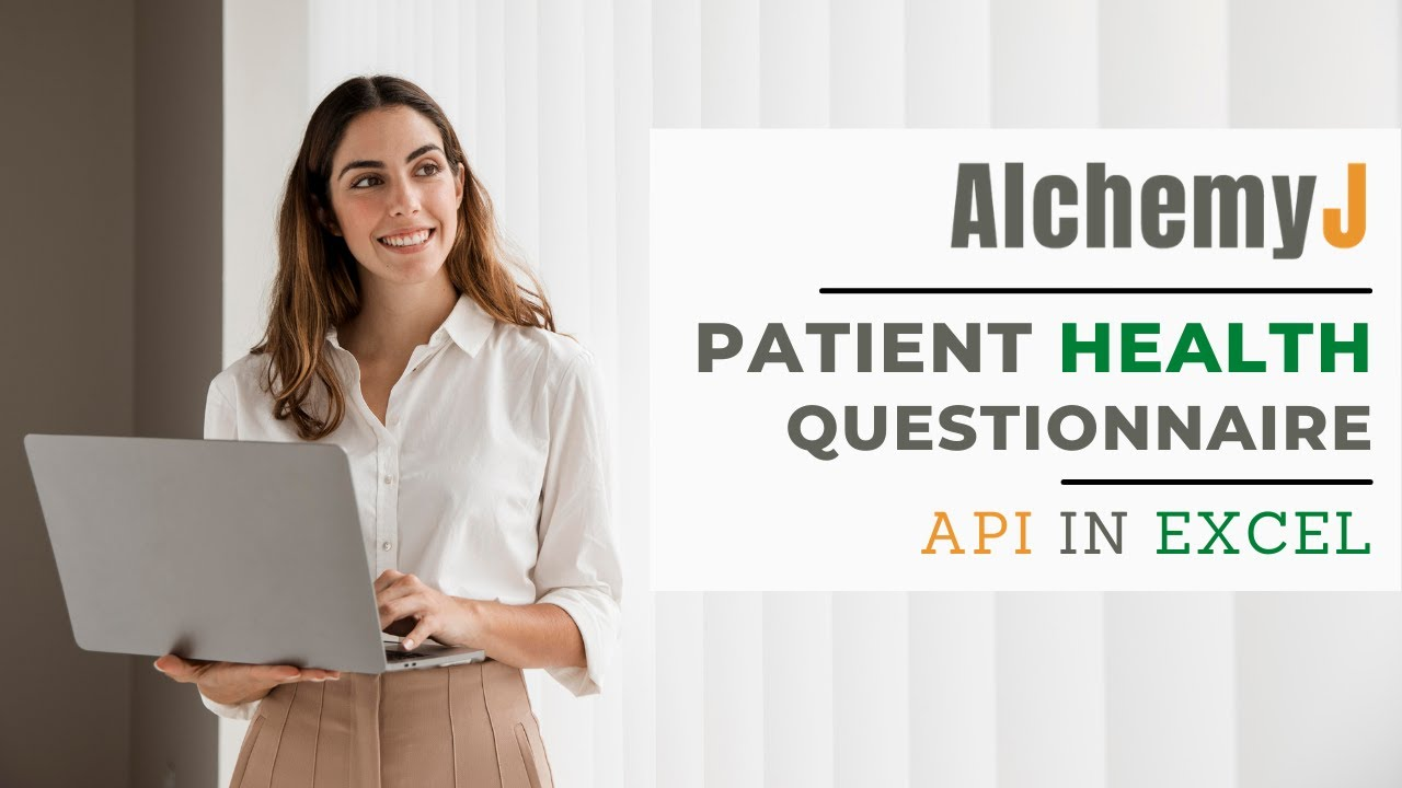 Patient Health Questionnaire API in Excel