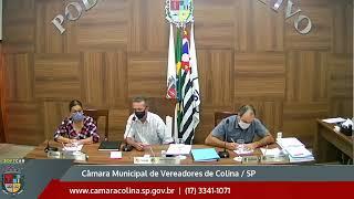 Câmara Municipal de Colina - 9ª Sessão Extraordinária 13/10/2020
