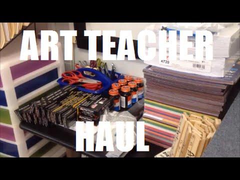 ART TEACHER HAUL