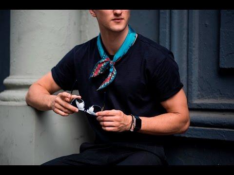 How To Style Silk Neckerchief
