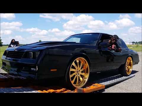 "Veltboy314 - Veltboy314 - Donk Masters LSX Swapped Monte Carlo SS On Gold 24"" Forgiato Wheels"