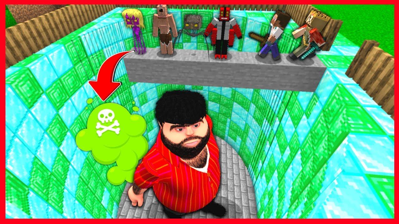 ÖLÜRSEN RECEP İVEDİK ÇUKURUNA DÜŞERSİN! 😱 - Minecraft