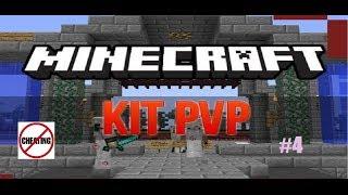 MineCraft Kit PVP Deel 4 - ZOVEEL CHEATERS!?