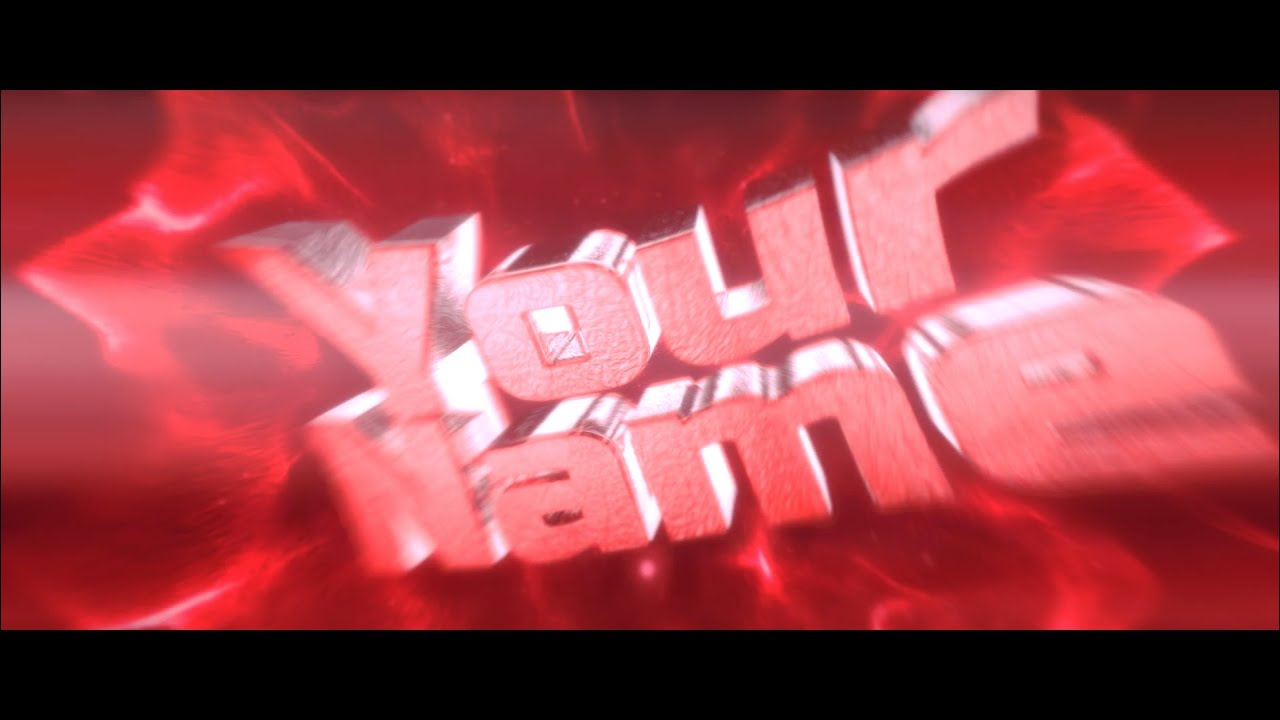 adobe after effect intro templates - free red flashy intro template 208 cinema 4d adobe