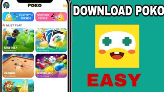 How To Download New Poko Game App And Play With Friends screenshot 2