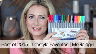 Best of 2015 | Lifestyle Favorites | MsGoldgirl thumbnail