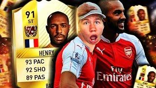 DEN BILLIGE THIERRY HENRY PÅ FIFA 17?! NYTT LEGENDEKORT PÅ ULTIMATE TEAM?!