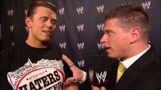 The Miz goes back in time WWE App Exclusive July 1,2013