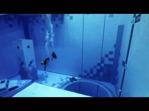 Quick Cut: World's deepest diving pool