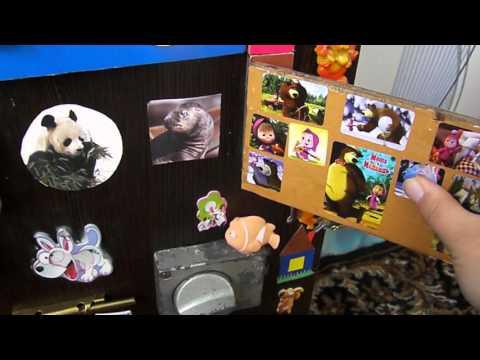 БизиБорд.Развивающий игровой  стенд-доска для ребенка своими руками