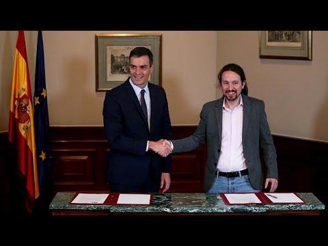 euronews (en español): Análisis | ¿Qué se esconde tras el apretón de manos entre Pedro Sánchez y Pablo Iglesias?