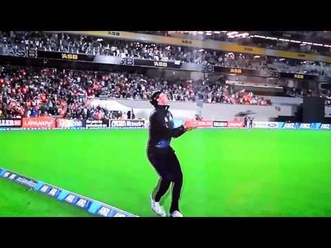Great Catch By Martin Guptill