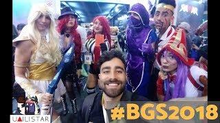FOMOS NA BGS E OLHA SÓ NO QUE DEU! - Brasil Game Show (parte 1)