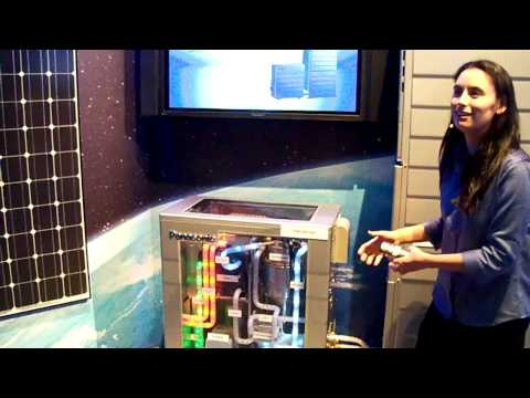 #CES2010: Panasonic Home Energy system / Fuel Cell/ Battery/ Solar Demo p1