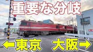 【東京vs大阪】東と西の分岐点に行ってきた。