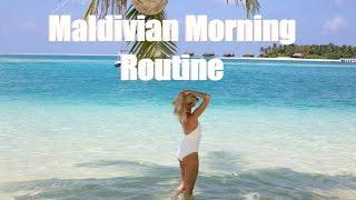 My Maldivian Morning Routine  |  Jet Lag & Post Travel Beauty Routine   |   Fashion Mumblr AD