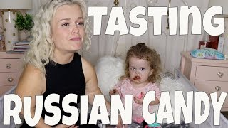 TASTING RUSSIAN CANDY: VLOG 180