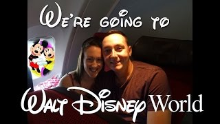 Flying to Walt Disney World Resort for the first time, Orlando Florida. Virgin Atlantic Holidays.