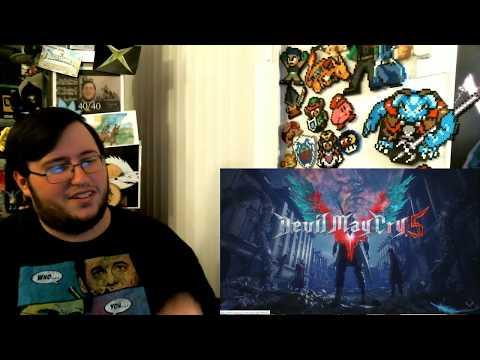 "Gors ""Devil May Cry 5"" Main Trailer REACTION thumbnail"