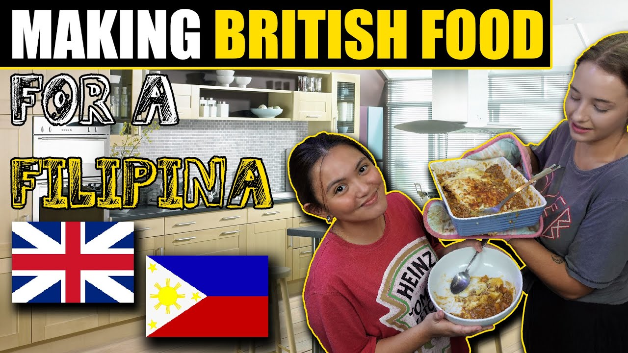FOREIGNER Makes BRITISH Cottage Pie For FILIPINA FRIEND - HAPPY REACTION