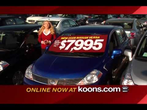 Elegant Koons Falls Church Nissan New Car TV Commercial