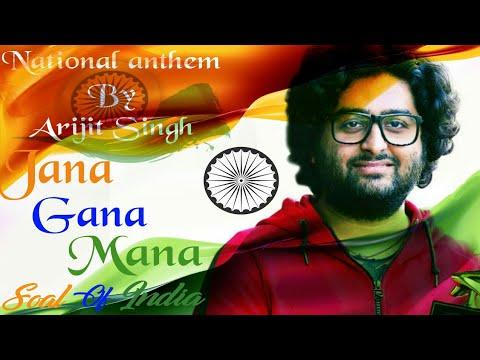 National anthem by Arijit Singh LIVE | Jana Gana mana