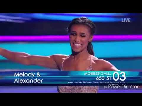Melody Thornton and Alexander Demetriou skating in Dancing on Ice (13/1/19) Mp3