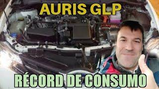 Récord de consumo Toyota Auris GLP