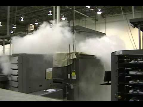 Safety First Fire Suppression System Discharge