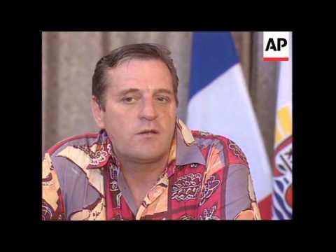 TAHITI : PUBLIC REACTION TO RIOTING IN PAPEETE