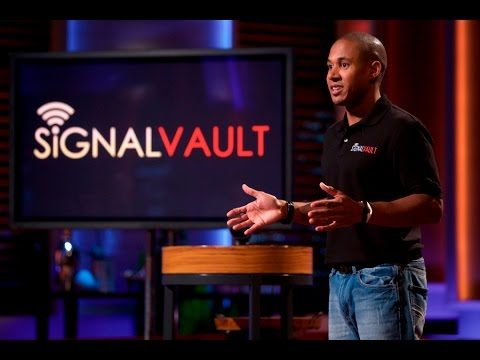 SignalVault Shark Tank Pitch & Update - Ashton Kutcher Guest Shark