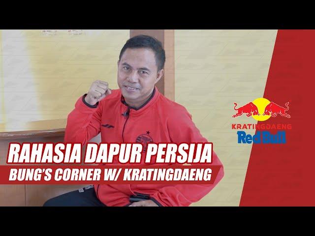 Bongkar Rahasia Dapur Persija Bersama Chef Udin Sutasoma   Bung's Corner With Kratingdaeng