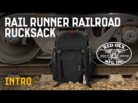 Red Oxx Rail Runner Railroad Rucksack Introduction Video