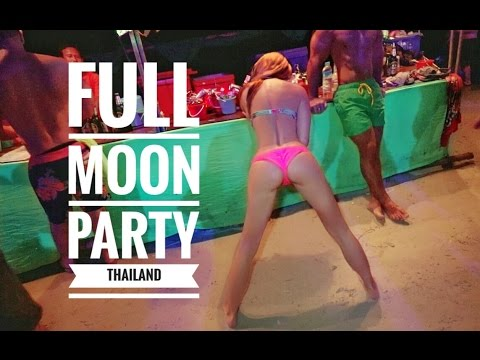 BEST FULL MOON PARTY THAILAND KOH PHANGAN - VLOG_0007