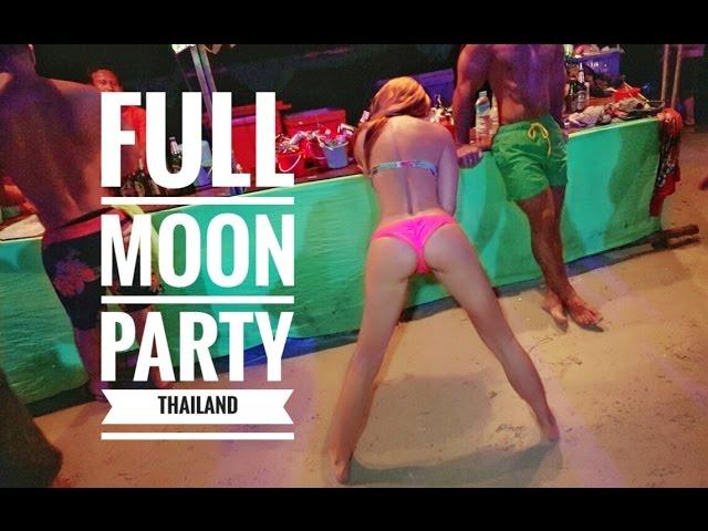 BEST FULL MOON PARTY THAILAND KOH PHANGAN - VLOG_0007