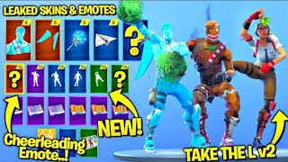 'NOUVEAU' Fuite Fortnite Skins -Emotes..!! Spectacle de Pickaxe Too (Frozen Love Ranger, Frozen Black Knight)