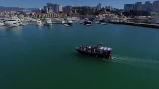 Аренда яхты в Сочи - йога на борту корабля(, 2016-09-17T16:39:07.000Z)