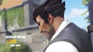 I`m on fire.. with.. Hanzo? omg