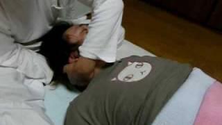 たらきゅうさんも整体の治療を受けました。